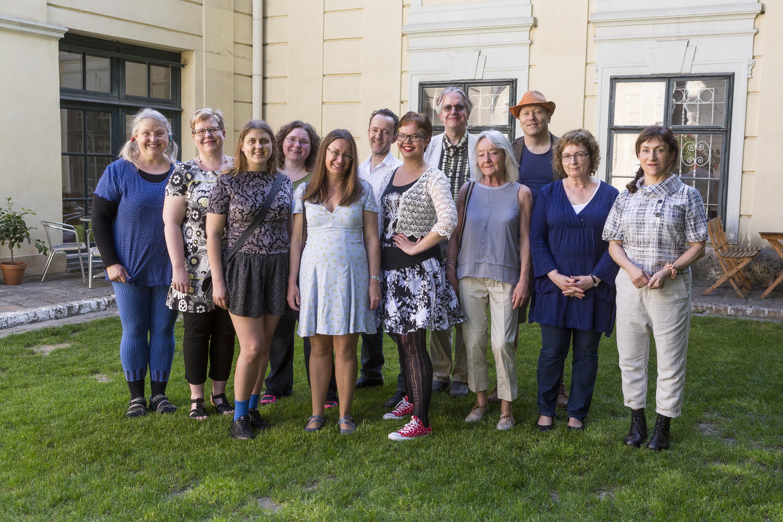 Authoren und Literaturforscher. (Foto Mario Habenbacher)