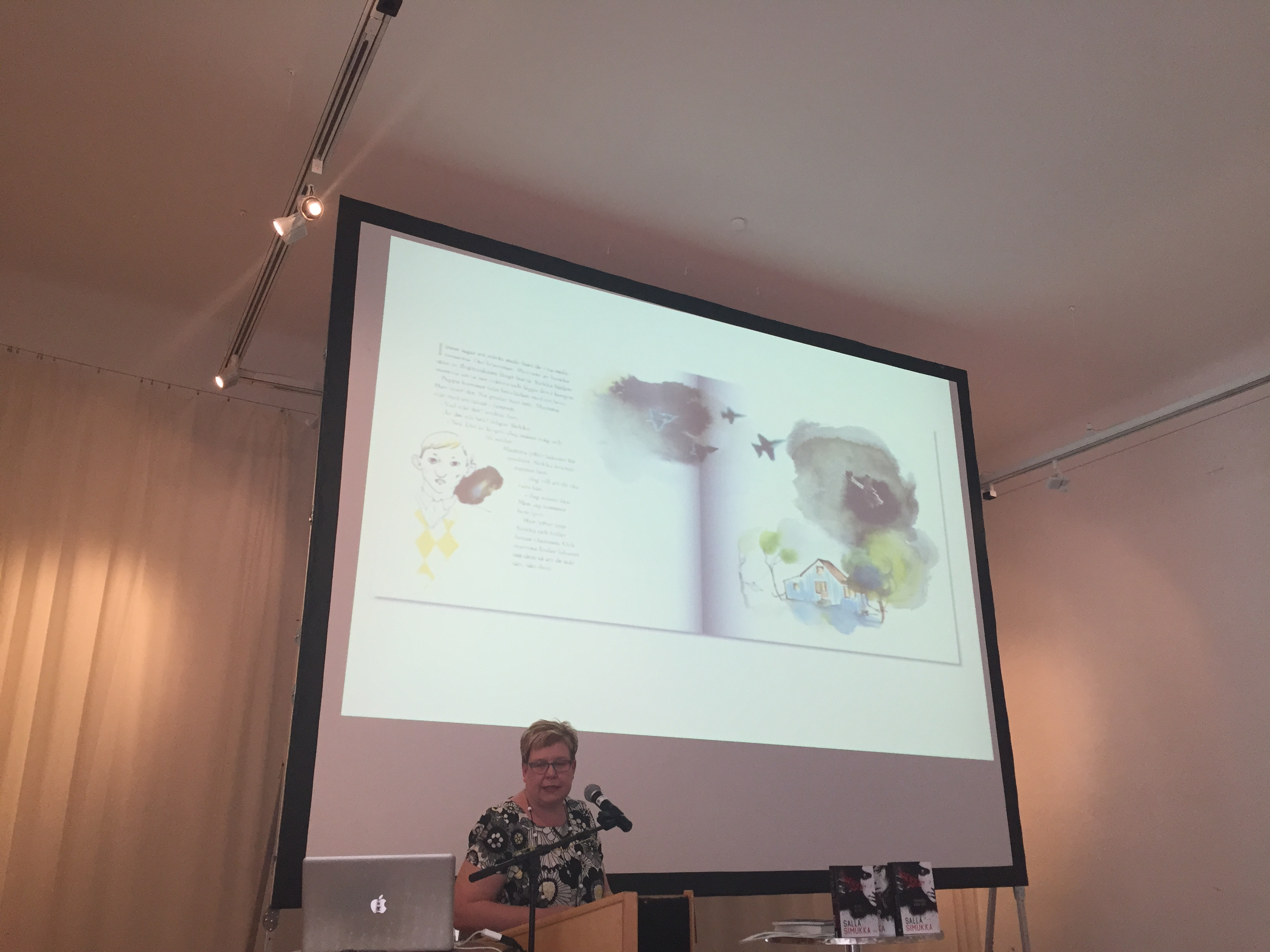 Maria Österlund on Nordic Noir. Landscape and mindscape in Finnish and Finno-Swedish Children*s Literature