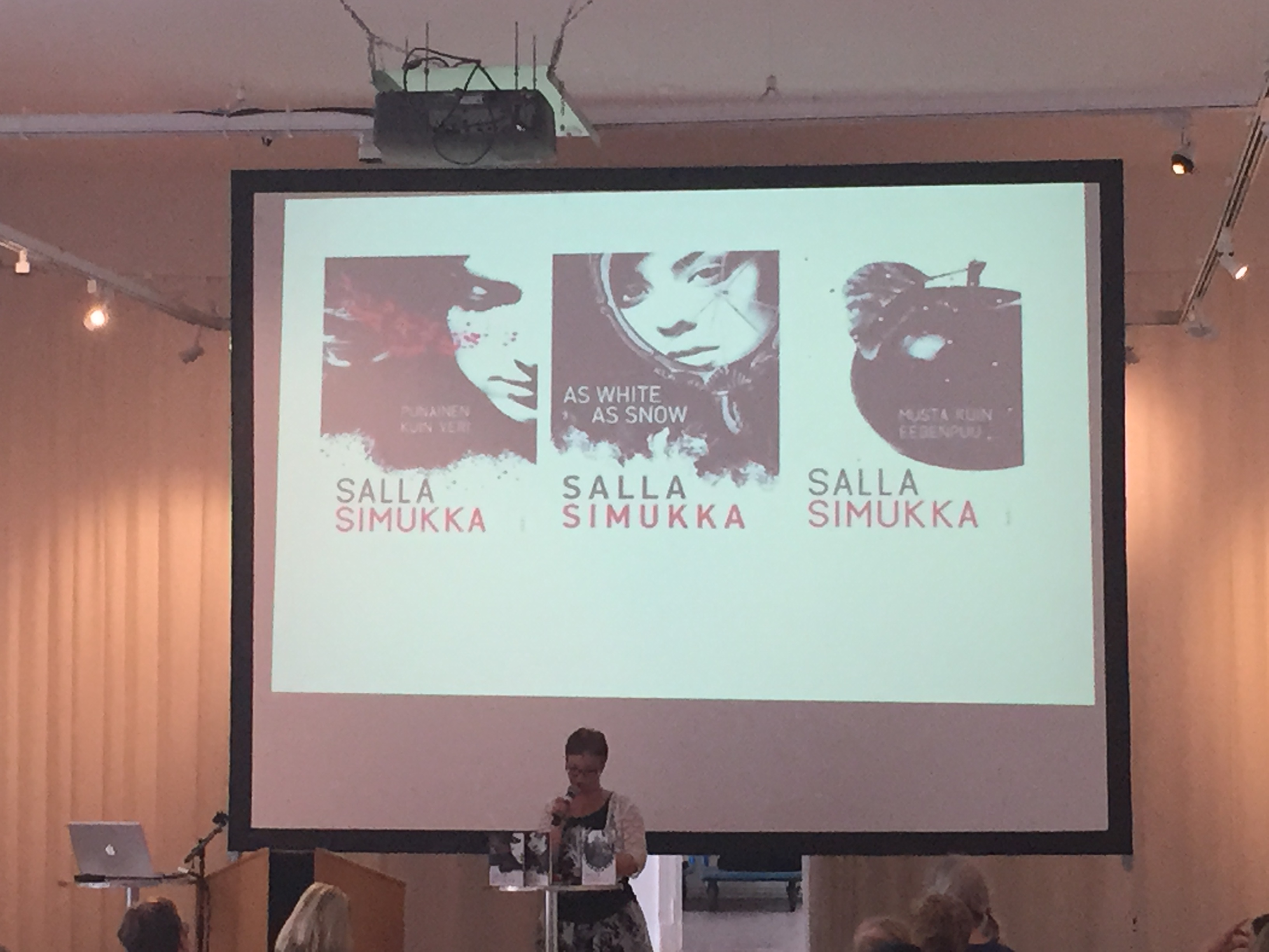 Salla Simukka on her trilogy