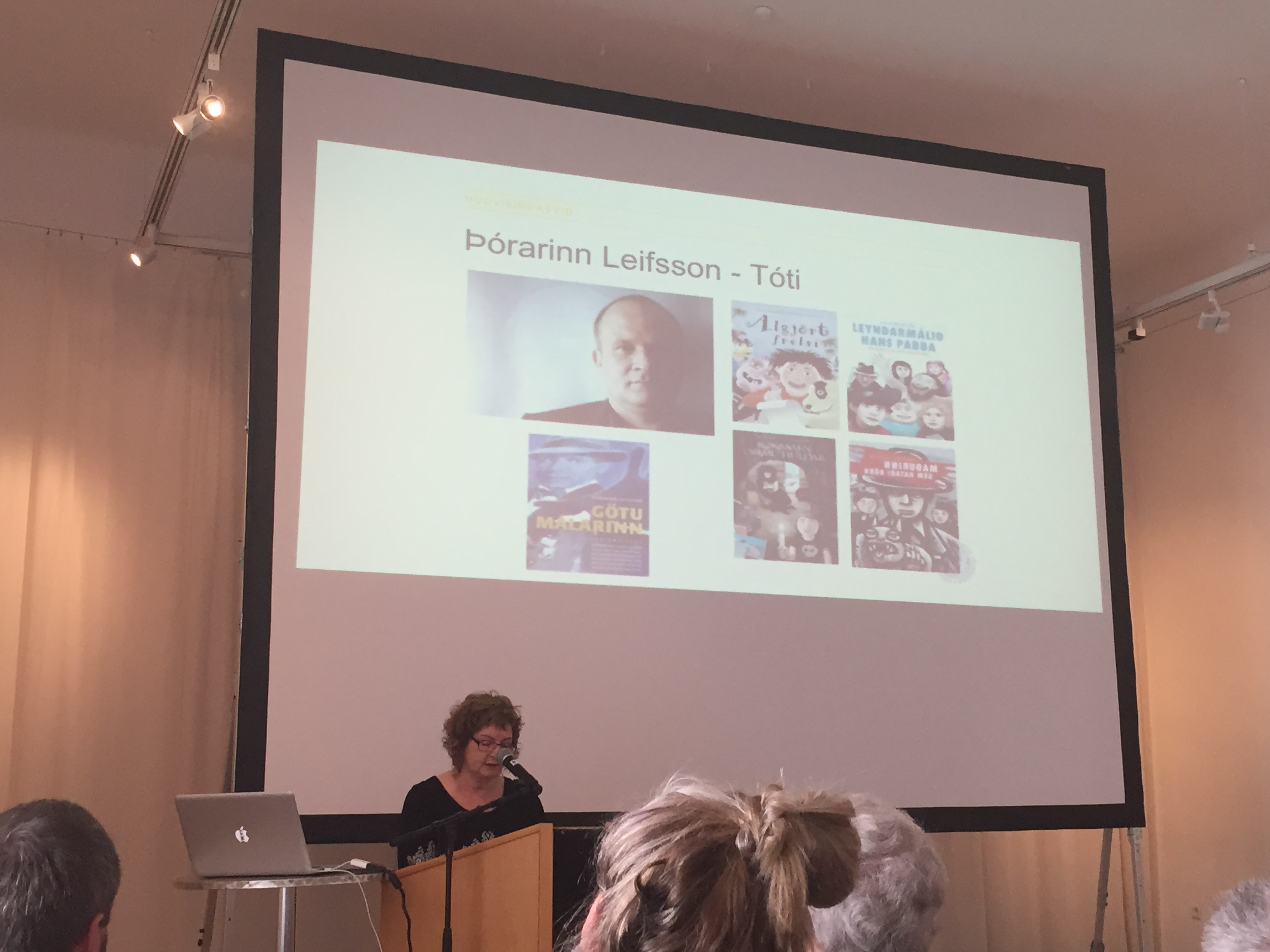 Dagný on contemporary Icelandic children's literature