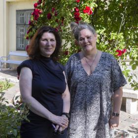 Eleonora und Joga. (Foto Mario Habenbacher)